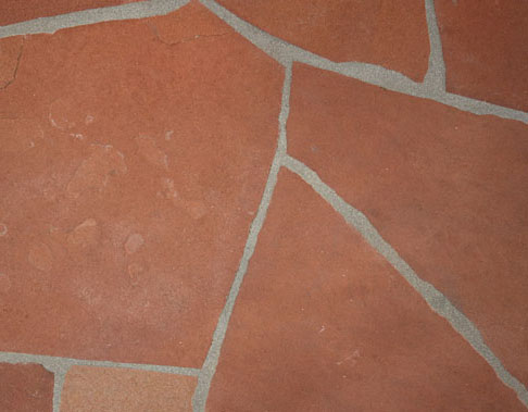 Sample of Sedona Red flagstone